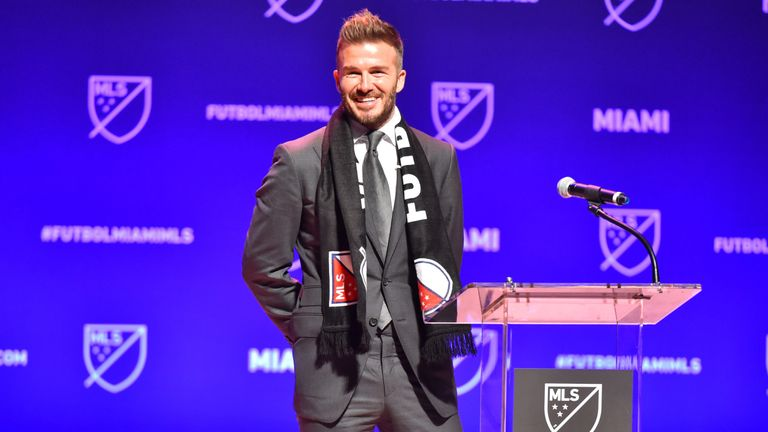 David Beckham is also the owner of new franchise Inter Miami