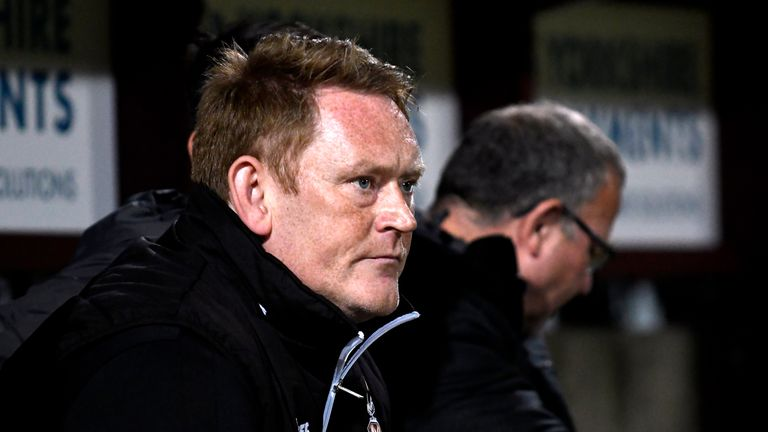 David Hopkin has had a difficult start at Bradford