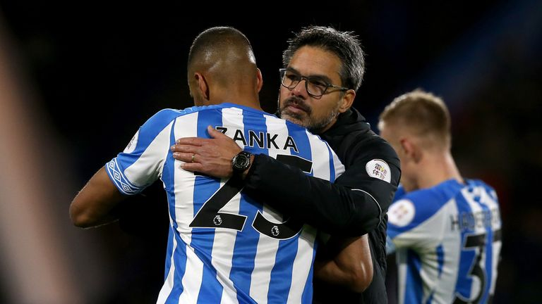 David Wagner lamented Huddersfield's misfortune in front of goal against West Ham