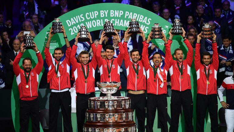 Croatia denied hosts France back-to-back Davis Cup titles