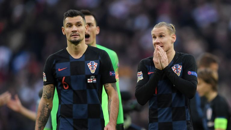World Cup runners-up Croatia were relegated to League B