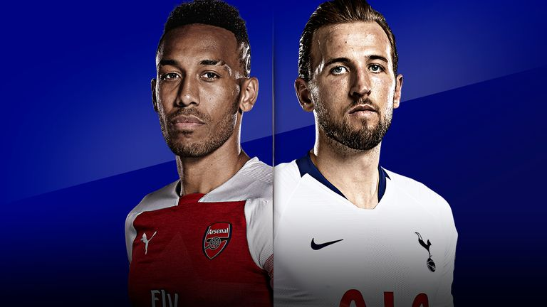 Arsenal vs Tottenham is live on Sky Sports on Sunday