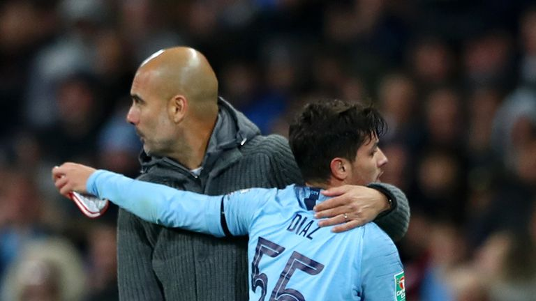 Pep Guardiola says Manchester City will do everything to keep Brahim Diaz