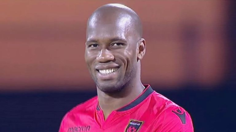 Didier Drogba played his last game before retiring for the Pheonix Rising in the USL Cup final