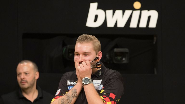 Van den Bergh averaged over 100 for the second successive World Youth Championship final