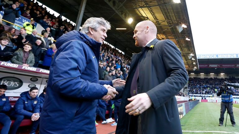 Dyche has an excellent record against Pellegrini