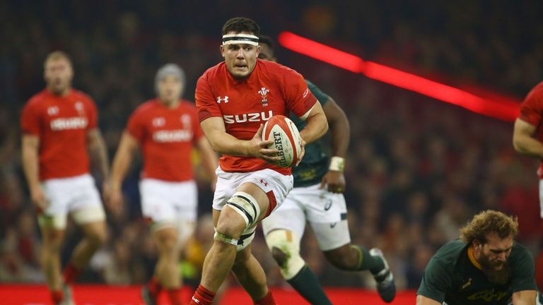 Ellis Jenkins somehow made sure South Africa did not score a first half try after a remarkable piece of defence late on