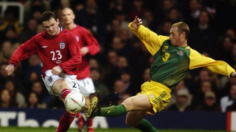 Wayne Rooney England v Australia 2003