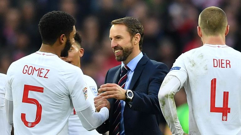 Gareth Southgate has guided England to the Nations League finals
