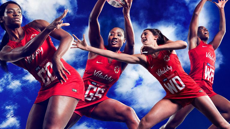Nike has become the latest brand to associate themselves with the England netball team