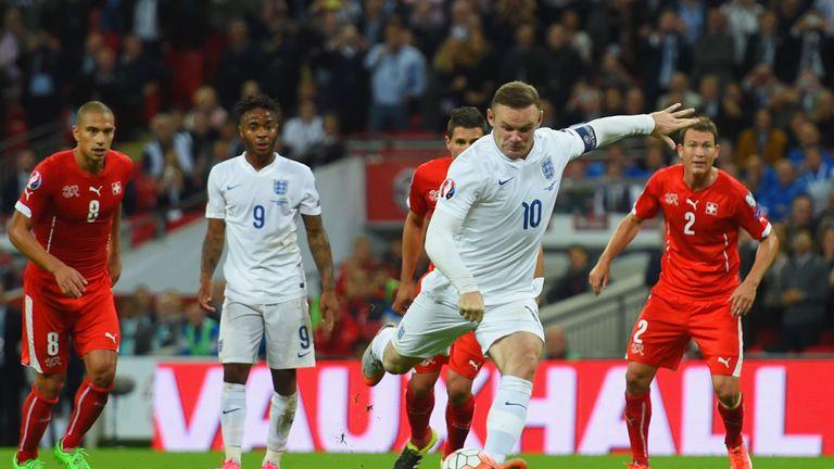 during the UEFA EURO 2016 Group E qualifying match between England and Switzerland at Wembley Stadium on September 8, 2015 in London, United Kingdom.