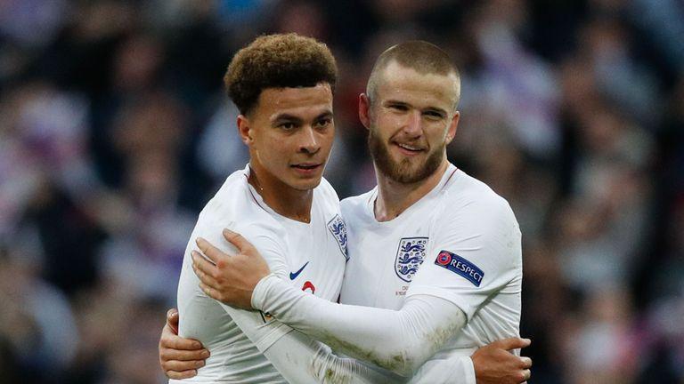 Dele Alli Eric Dier England v Croatia