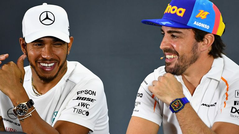Abu Dhabi GP: Fernando Alonso says Lewis Hamilton only happy driver in 2018 | F1 News
