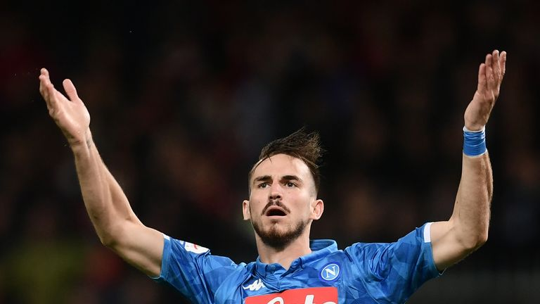 Fabian Ruiz scored for Napoli against Genoa