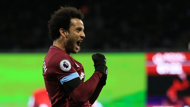 West Ham and Felipe Anderson have been improving over recent weeks
