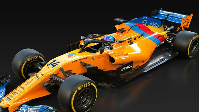 McLaren reveal one-off livery for Fernando Alonso's farewell