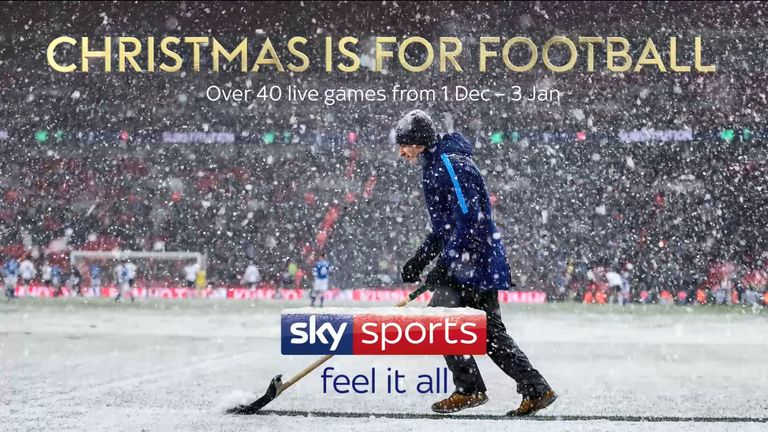 Festive Football on Sky Sports: 42 live Premier League, EFL and Scottish clashes | Football News |