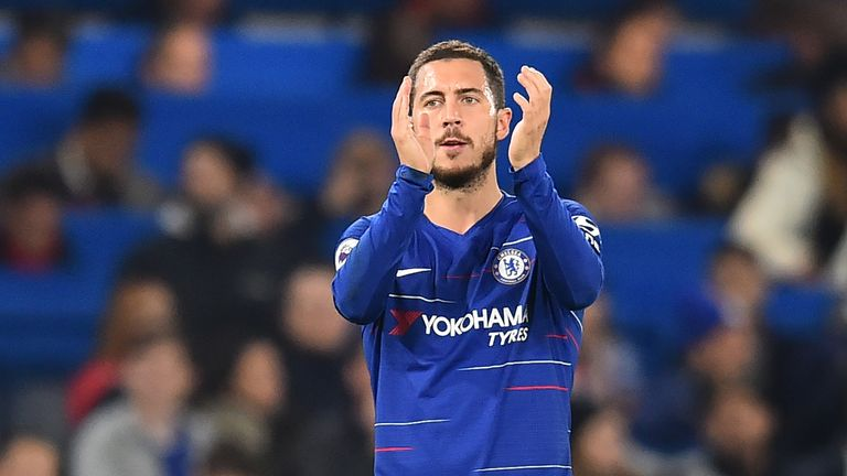 Chelsea's Eden Hazard started this season in scintillating form