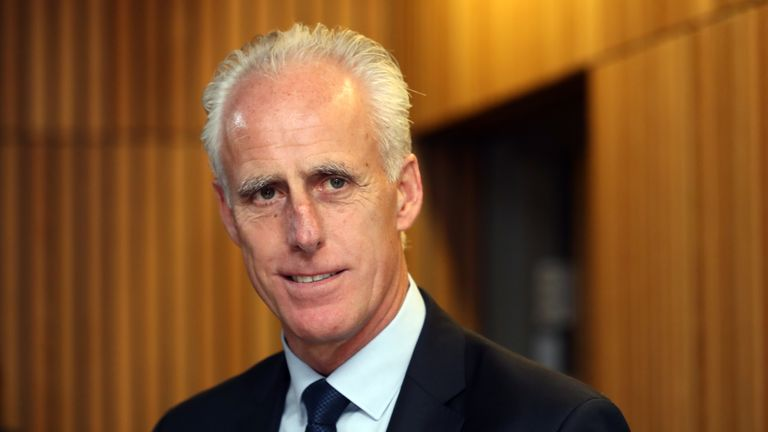 New Republic of Ireland manager Mick McCarthy saw his team moved out of Group C for Euro 2020 qualifying