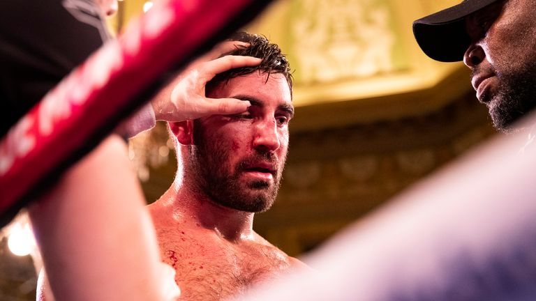Buglioni suffered the cut in the fifth round