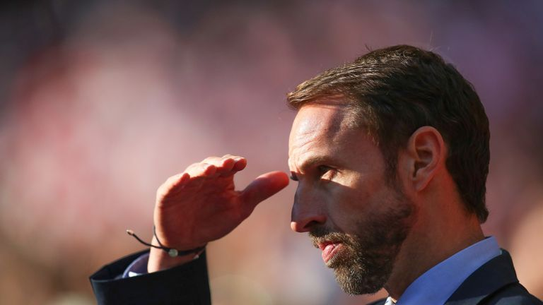 Gareth Southgate during the UEFA Nations League, Group A4 match between England and Croatia
