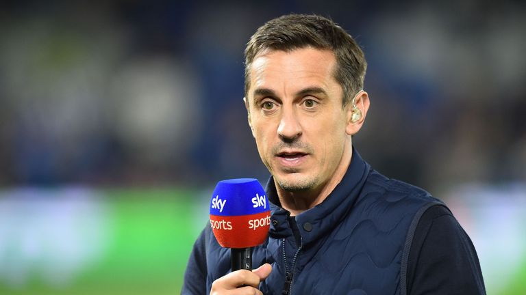 Gary Neville won the Pundit of the Year award