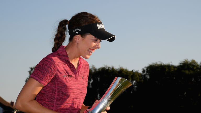 Georgia Hall is defending Women's British Open champion