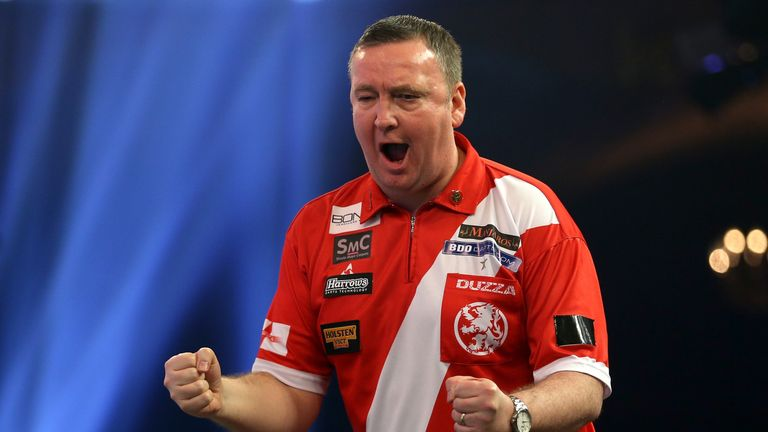 Glenn Durrant was the BDO champion in both 2017 and 2018