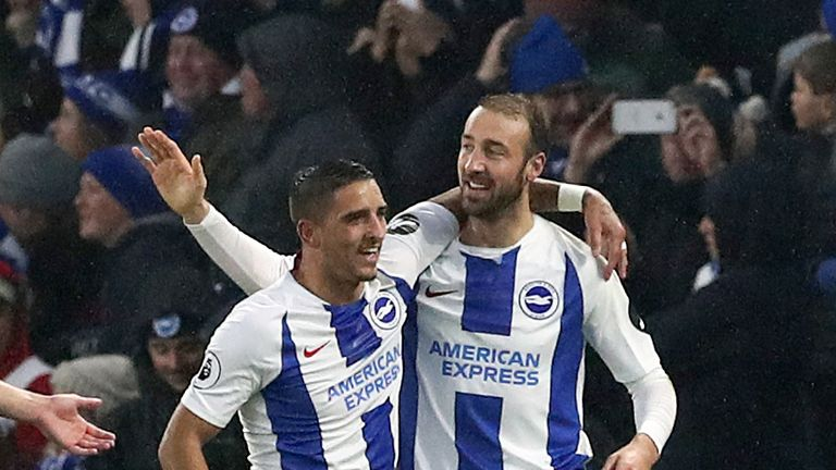 Hughton thinks there is more to come from his Brighton side this season