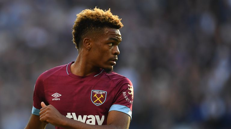 Grady Diangana has also impressed for the Hammers this campaign