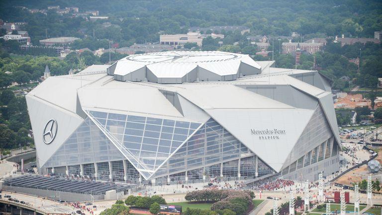 Atlanta United's Mercedes-Benz Stadium