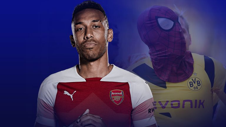 Will Pierre-Emerick Aubameyang be Arsenal's superhero when Tottenham Hotspur come to town? | Football News |