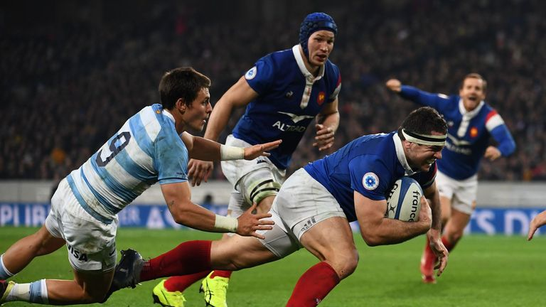 Guirado scored his eighth international try in the win over Argentina on November 17