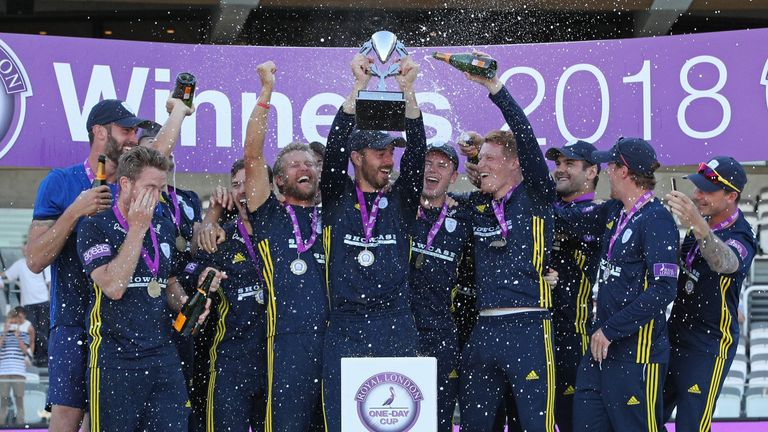 Hampshire won first one-day title since the tournament changed from a 40-over to 50-over competition