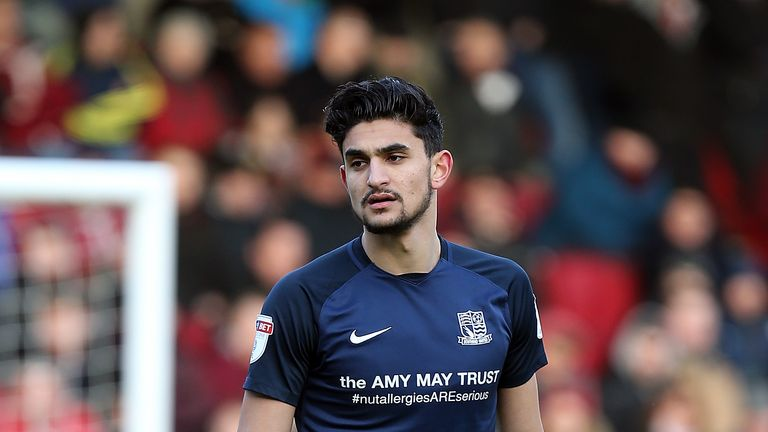 Harry Kyprianou was on target in Southend's win over Southampton