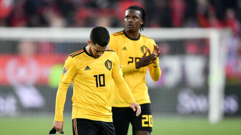 Belgium miss out on the UEFA Nations League final four