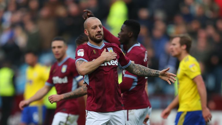 Alan Hutton scored a fine individual goal to seal the win for Aston Villa