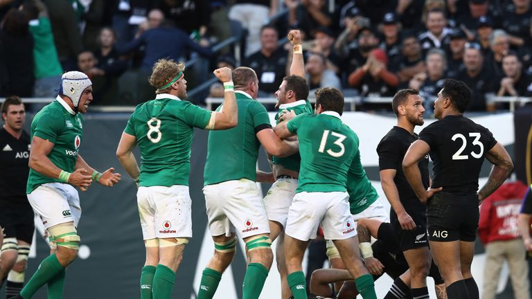Schmidt Makes Four Changes As Ireland Team Named For All Blacks