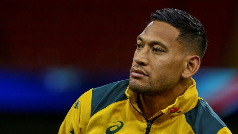 Israel Folau has been sacked by the ARU for his controversial post on social media