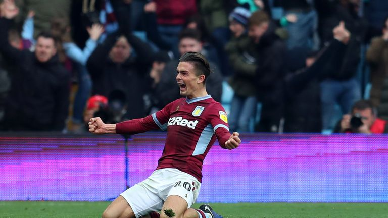 Jack Grealish headed Villa in front before half-time