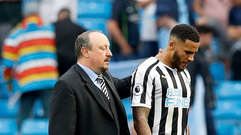 Jamaal Lascelles will be sidelined for Newcastle