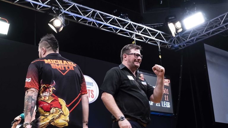 James Wade became only the fifth player in PDC history to secure back-to-back TV titles last weekend