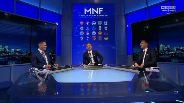 Darren Fletcher was a special guest on Monday Night Football