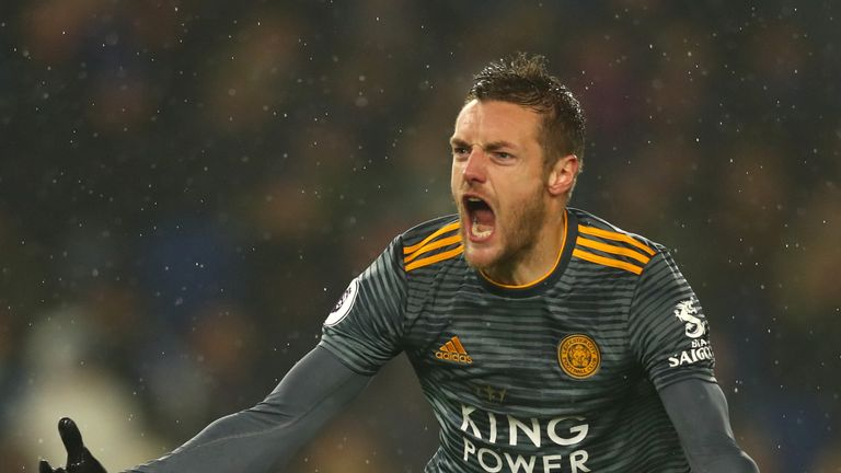 Jamie Vardy could be in the goals in the forthcoming matches for Leicester