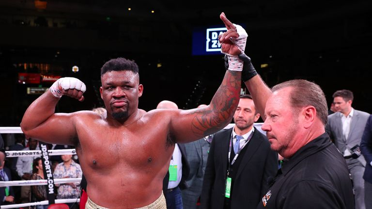 Jarrell Miller KO's Bogdan Dinu in four then calls for British heavyweight battle next | Boxing News |