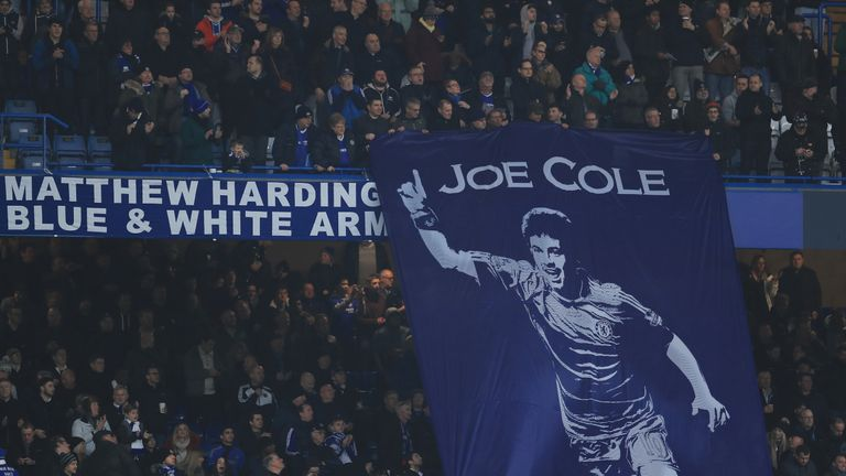 Cole spent more time at Chelsea than any other club, playing 280 times and scoring 40 goals