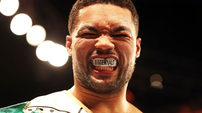 Joe Joyce could be on a collision course with the biggest names in British boxing