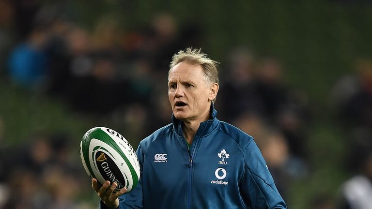 Joe Schmidt was named World Rugby Coach of the Year