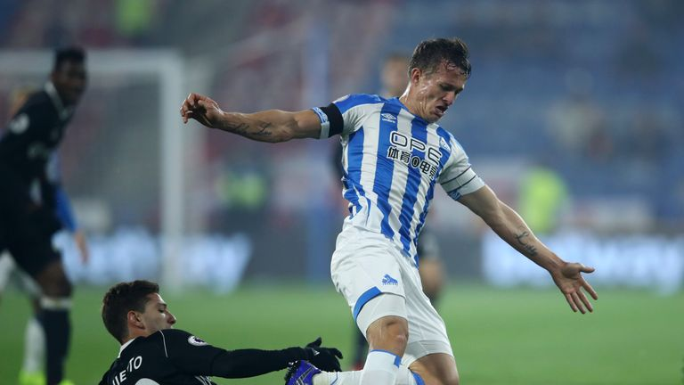 Jonathan Hogg was crucial as Huddersfield limited Fulham to a single shot on target