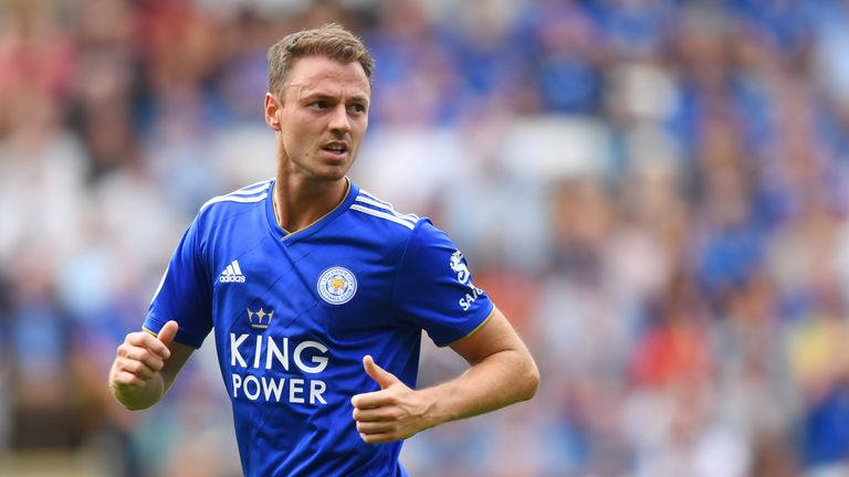 Jonny Evans signed for Leicester from West Brom last summer